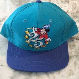 Walt Disney 25th Anniversary Hat